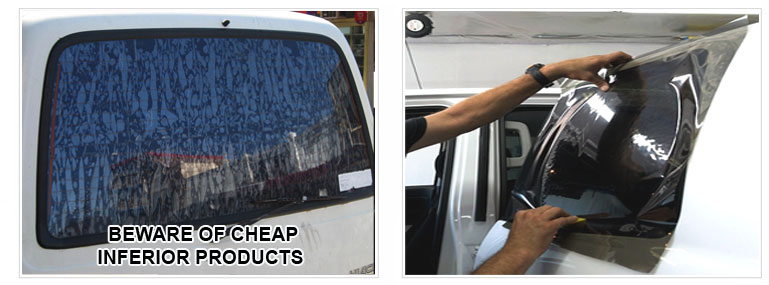 Beware of Inferior Window Tinting- get Klingshield and be sure