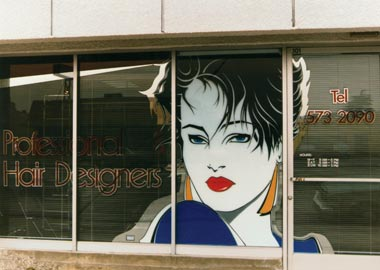 window graphics by Klingshield