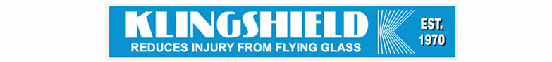 Klingshield Safety Film Reduces Injury from Flying Glass