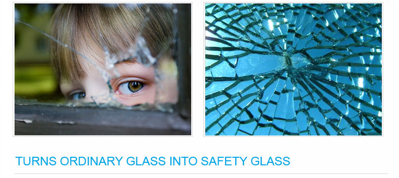 With Klingshield Safety Film- Protect your kids and loved ones