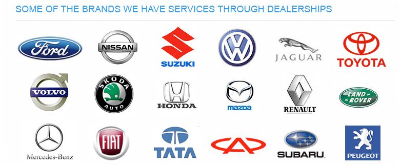 Some of the Brands that support and use Klingshield Tint A Car