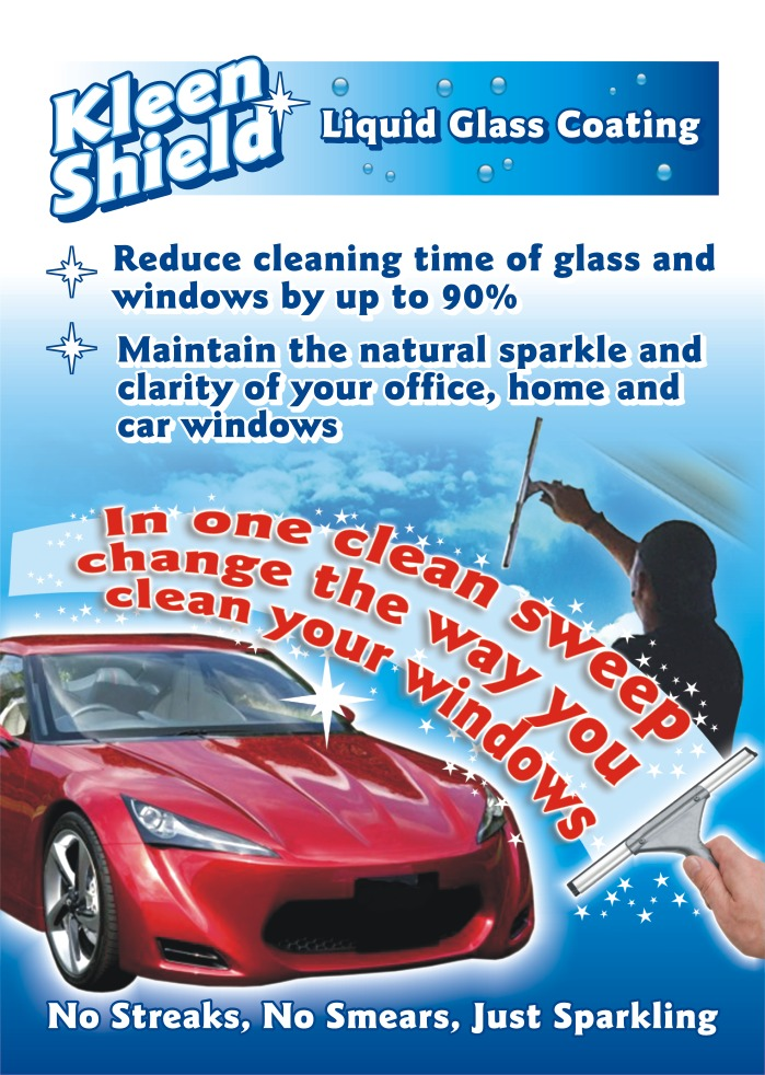 Kleenshield self cleaning glass page 1
