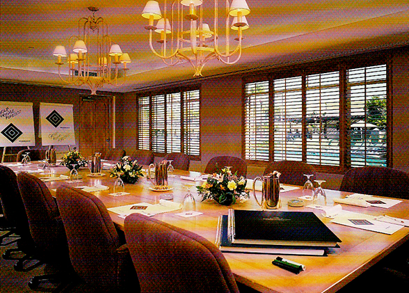 comfortable boardroom window film