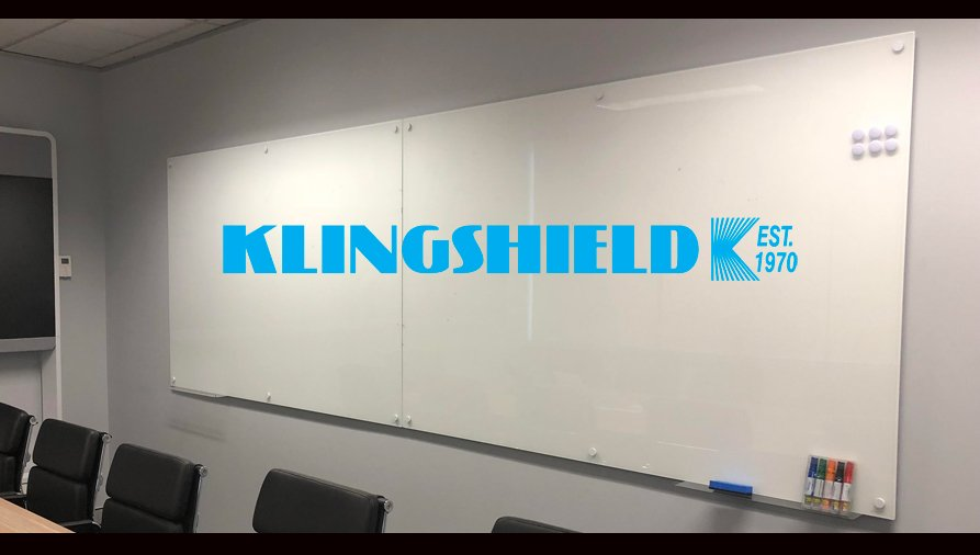 Glass Whiteboards by Klingshield