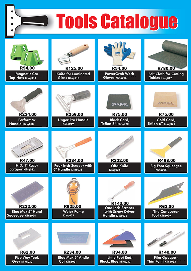 Tool Catalogue page 2