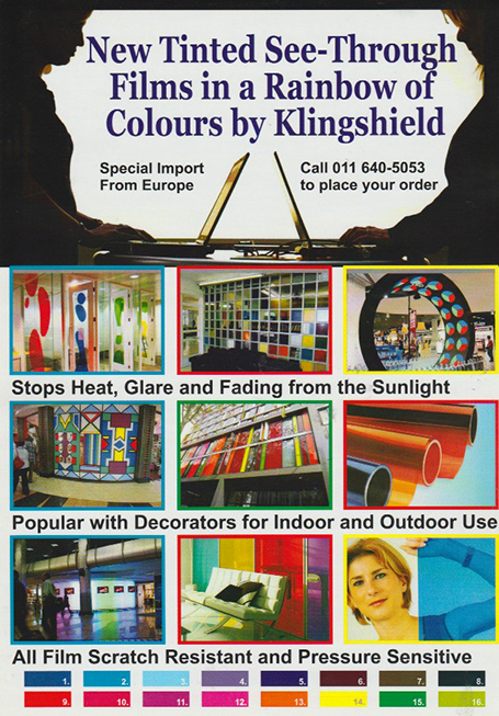 Klingshield the window film company's digital marketing department