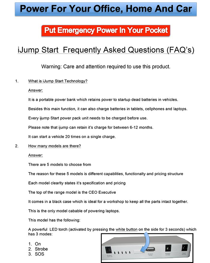 ijump start operating instructions 1