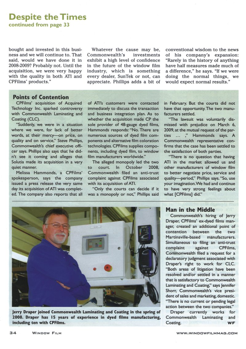 Window Film Magazine Page 5