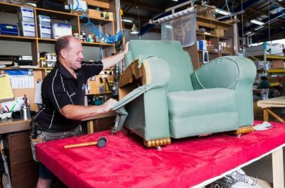 Reupholstery of Furniture