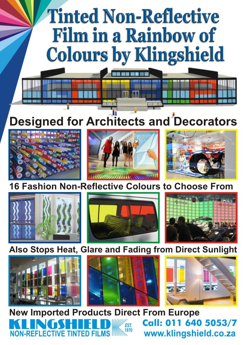 Coloured Window Film by Klingshield page 2