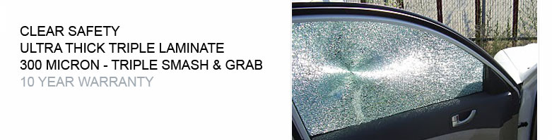 Clear Safety Ultra Thick Window Film